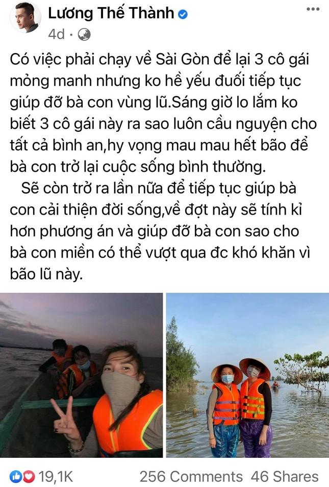 Trấn Thành, Bảo Thy, Đại Nghĩa và nhiều sao Việt một lòng hướng về miền Trung mùa bão lũ ảnh 4