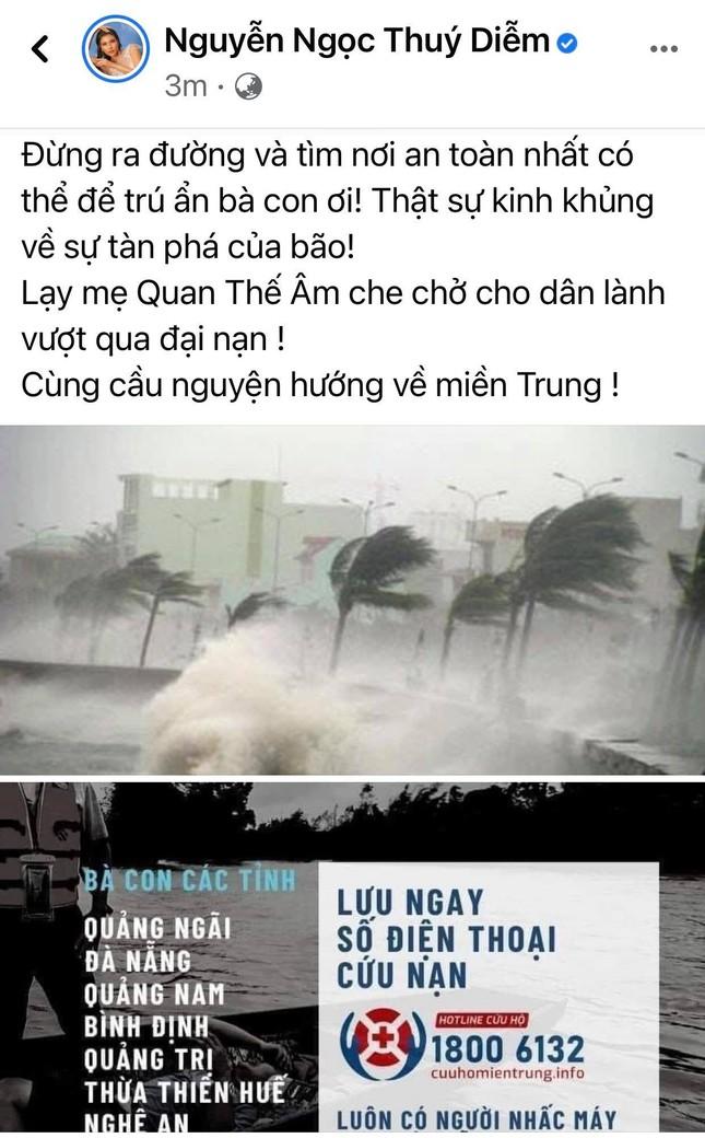 Trấn Thành, Bảo Thy, Đại Nghĩa và nhiều sao Việt một lòng hướng về miền Trung mùa bão lũ ảnh 3