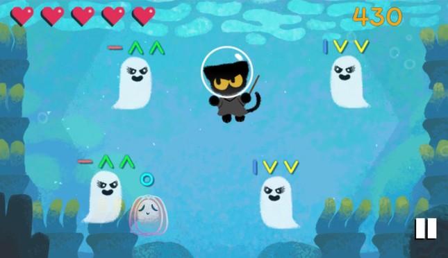 Google tung đủ trò giải cứu mèo ma thuật, kể chuyện ma cho người dùng chơi Halloween ảnh 1