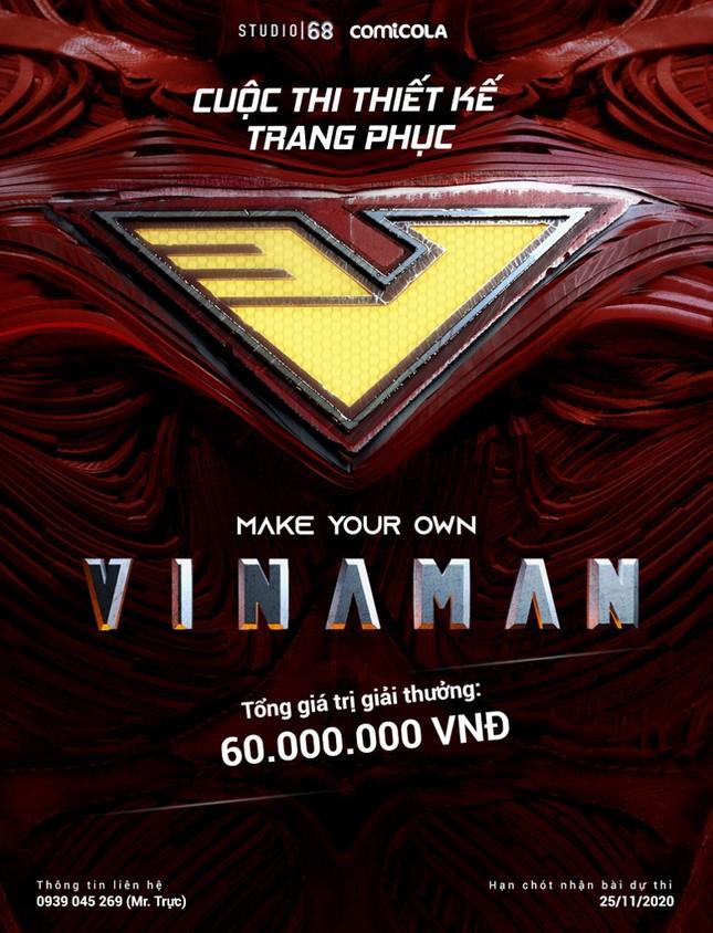Ngô Thanh Vân tìm kiếm bộ trang phục độc đáo nhất cho siêu anh hùng VINAMAN ảnh 3