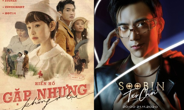 """Dù comeback sát nhau, Soobin Hoàng Sơn và Hiền Hồ vẫn """"xa cách"""" nhau trên Top Trending ảnh 2"""