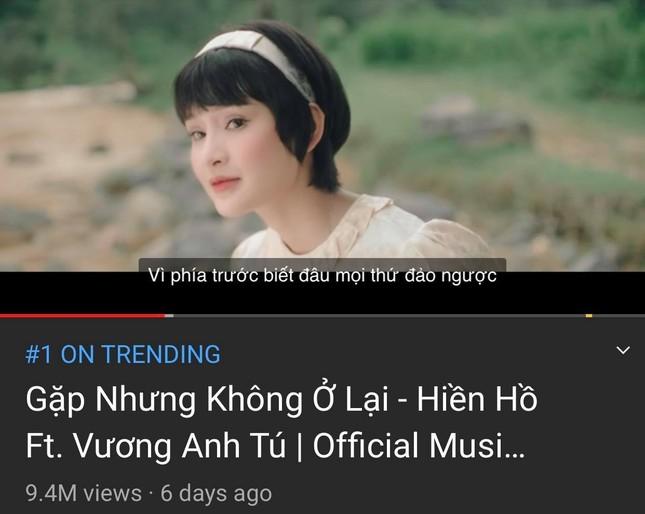 """Dù comeback sát nhau, Soobin Hoàng Sơn và Hiền Hồ vẫn """"xa cách"""" nhau trên Top Trending ảnh 5"""