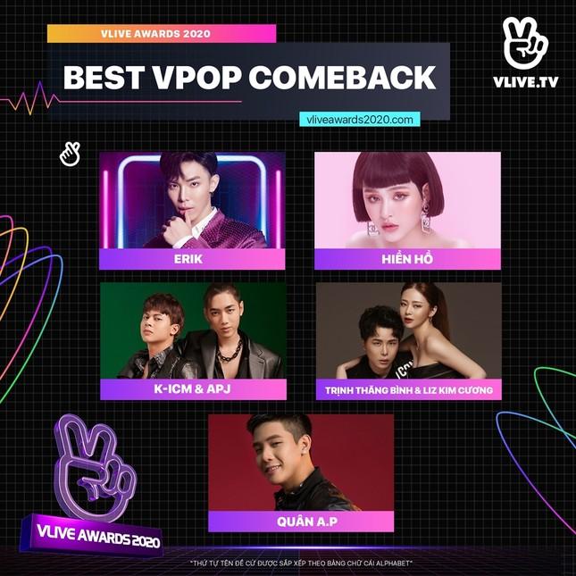 """Giải thưởng """"VLive Awards 2020"""": Rapper 9X HIEUTHUHAI được đề cử """"Nghệ sĩ mới xuất sắc"""" ảnh 4"""