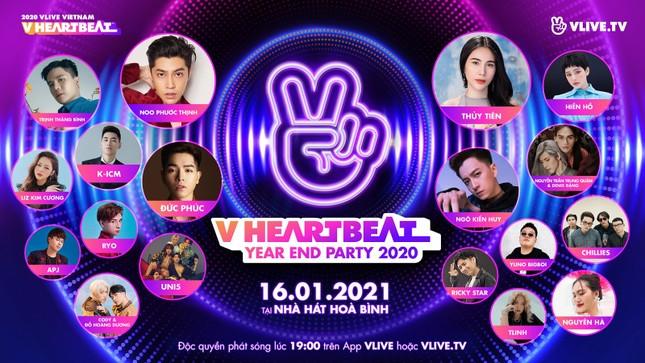 Uni5, Nguyễn Trần Trung Quân - Denis Đặng tổ chức fansign tại V heartbeat Year End ảnh 5