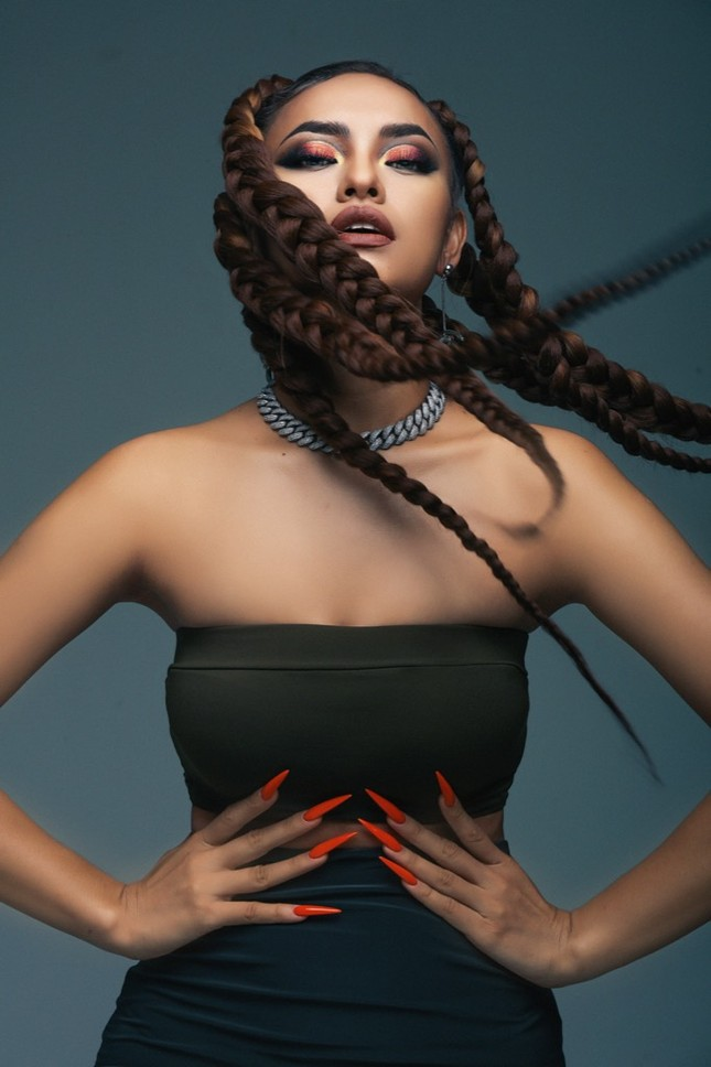 Thanh Hằng, Á hậu Kiều Loan, Mai Ngô tham gia sự kiện thời trang kết hợp Rap Hip-Hop ảnh 2