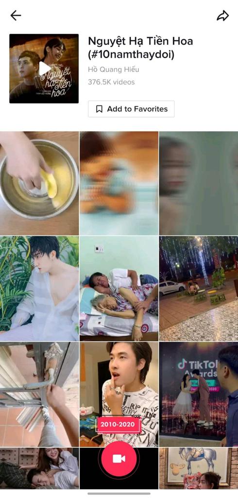Hồ Quang Hiếu, Lê Bảo Bình, Lập Nguyên thống trị Top 3 ca khúc được yêu thích trên TikTok ảnh 4