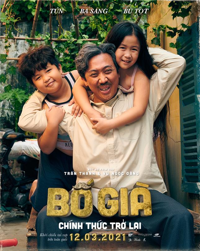 """Cuộc đua tháng 3 thêm nóng khi """"Bố Già"""" bản điện ảnh của Trấn Thành ấn định ngày ra rạp ảnh 1"""