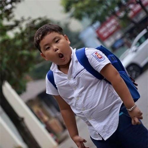 """Bi Béo - con trai danh hài Xuân Bắc """"cosplay"""" rapper Lil Pump khiến dân mạng cười ngất ảnh 2"""