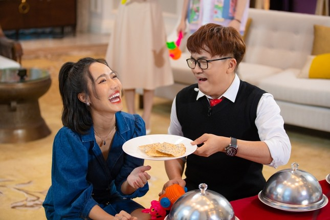 """Đại Nghĩa, Trịnh Thăng Bình, Diệu Nhi trở thành """"bộ ba rắc muối"""" trong """"Ăn Đi Rồi Kể"""" ảnh 2"""