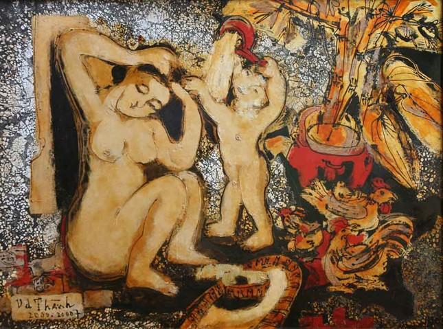 Văn Dương Thành kỷ niệm 35 năm sáng tác bằng loạt tranh về phụ nữ ảnh 2