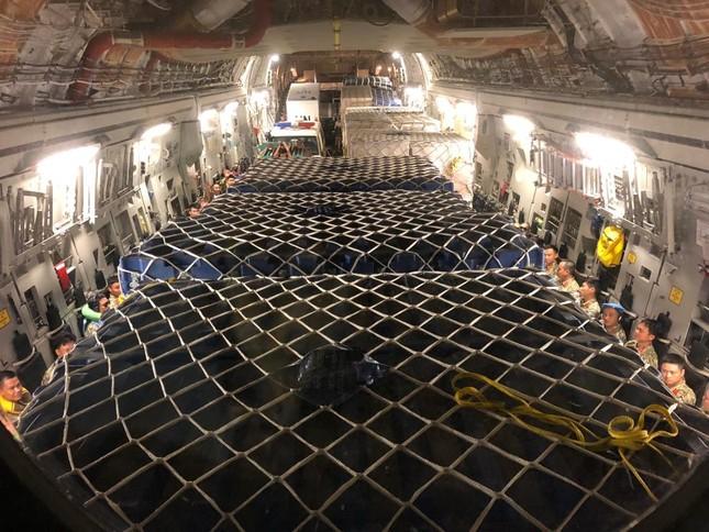 Siêu vận C-17 đưa bệnh viện dã chiến cấp 2 Việt Nam sang Nam Sudan ảnh 4