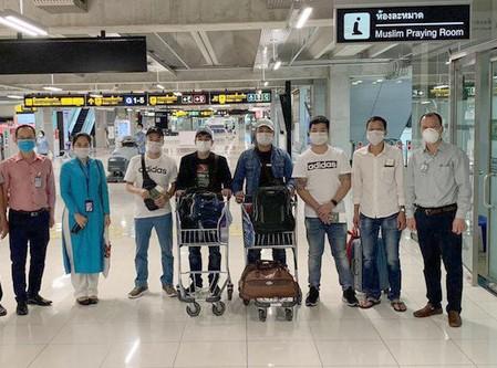 Đón công dân Việt Nam mắc kẹt tại sân bay Nhật Bản, Thái Lan về nước ảnh 1