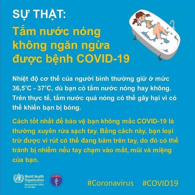 Chuyên gia y tế giải đáp thông tin 'tắm nước nóng diệt Covid-19' ảnh 1