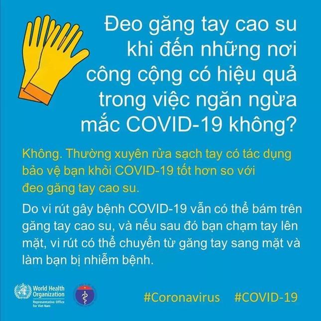 Tổ chức Y tế Thế giới khuyến cáo cách giao tiếp chống Covid-19 ảnh 1