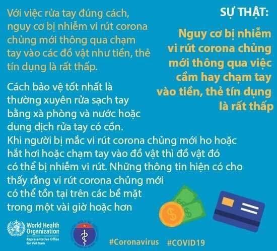 Chạm tay vào tiền, thẻ tín dụng có nguy cơ lây nhiễm Covid-19? ảnh 1