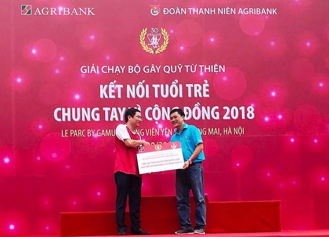 Giải chạy Marathon gây quỹ từ thiện của Đoàn Thanh niên Agribank ảnh 17