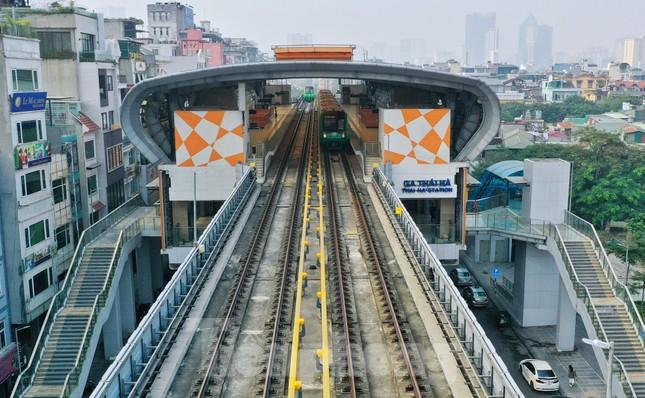 9 đoàn tàu đường sắt Cát Linh - Hà Đông đồng loạt chạy thử ảnh 10