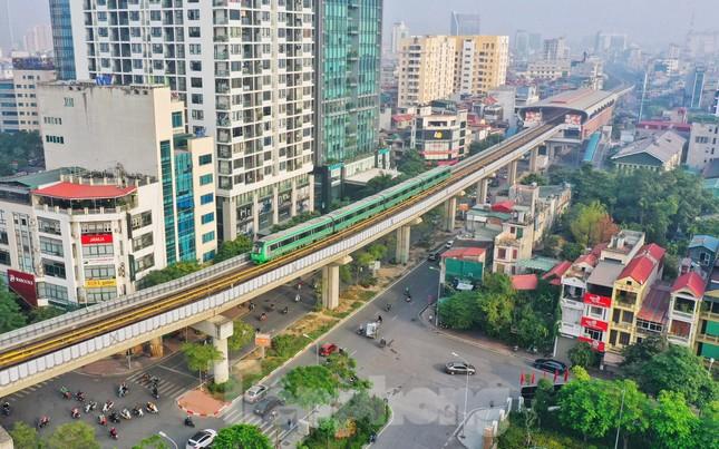 9 đoàn tàu đường sắt Cát Linh - Hà Đông đồng loạt chạy thử ảnh 14