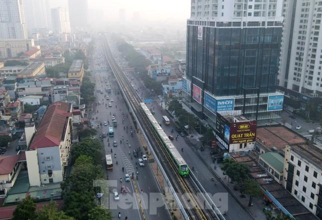 9 đoàn tàu đường sắt Cát Linh - Hà Đông đồng loạt chạy thử ảnh 15