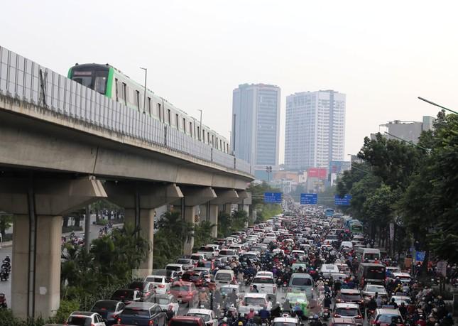 9 đoàn tàu đường sắt Cát Linh - Hà Đông đồng loạt chạy thử ảnh 16