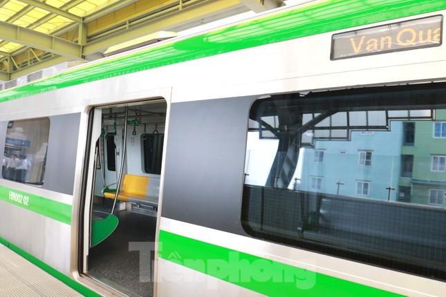 9 đoàn tàu đường sắt Cát Linh - Hà Đông đồng loạt chạy thử ảnh 4