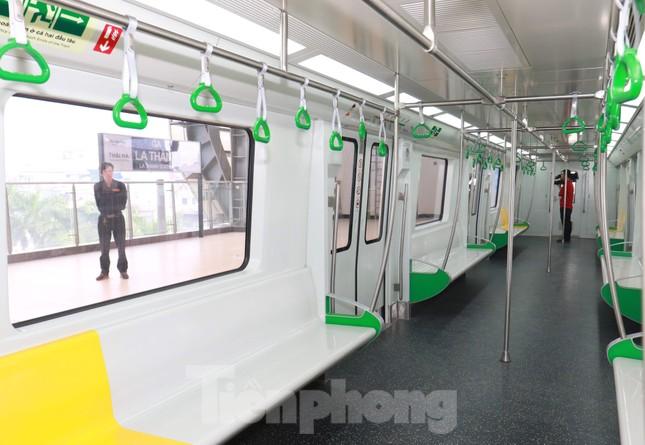 9 đoàn tàu đường sắt Cát Linh - Hà Đông đồng loạt chạy thử ảnh 5