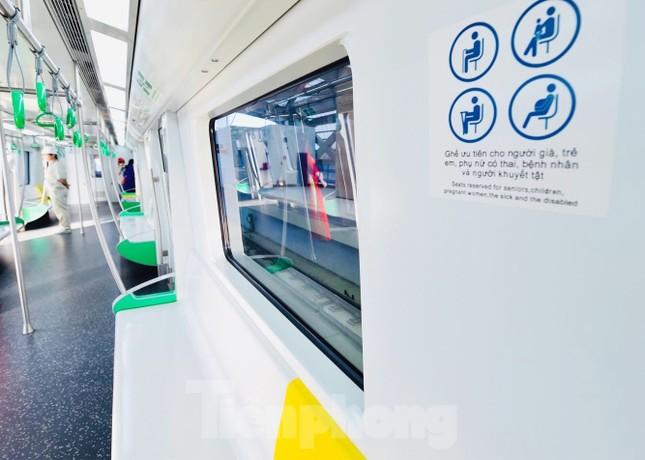 9 đoàn tàu đường sắt Cát Linh - Hà Đông đồng loạt chạy thử ảnh 6