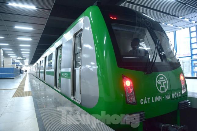 9 đoàn tàu đường sắt Cát Linh - Hà Đông đồng loạt chạy thử ảnh 8