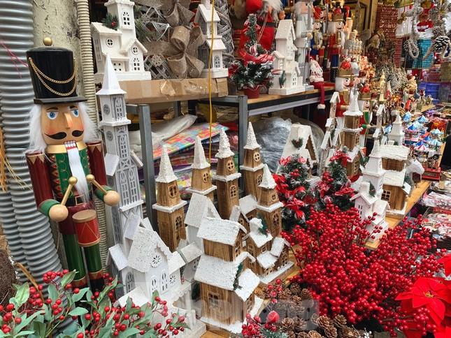 Ngắm các bạn trẻ rạng rỡ chơi Noel sớm trên phố Hàng Mã ảnh 12