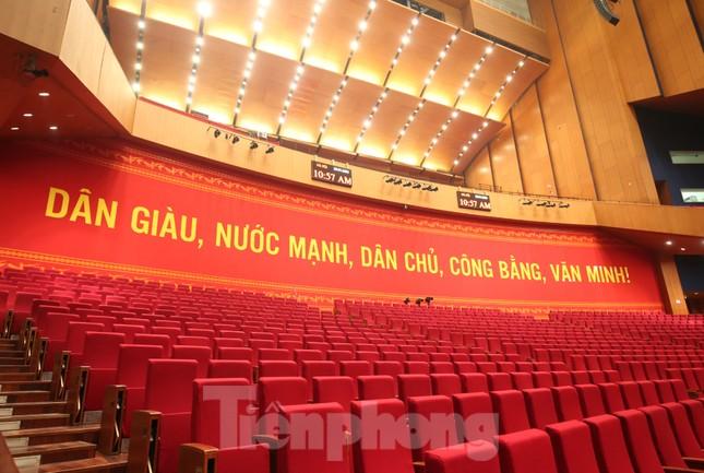 Trung tâm Hội nghị Quốc gia sẵn sàng cho Đại hội Đảng ảnh 16