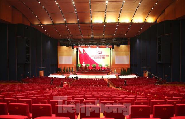 Trung tâm Hội nghị Quốc gia sẵn sàng cho Đại hội Đảng ảnh 17