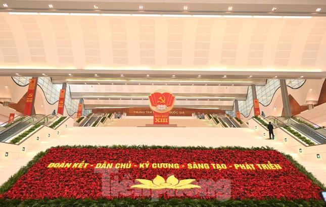 Trung tâm Hội nghị Quốc gia sẵn sàng cho Đại hội Đảng ảnh 8