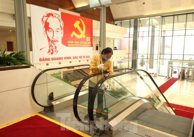 Trung tâm Hội nghị Quốc gia sẵn sàng cho Đại hội Đảng ảnh 11