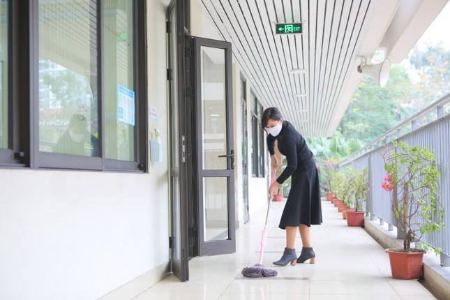 Đón học sinh trở lại, trường học ở Hà Nội trang bị phòng cách ly ảnh 4