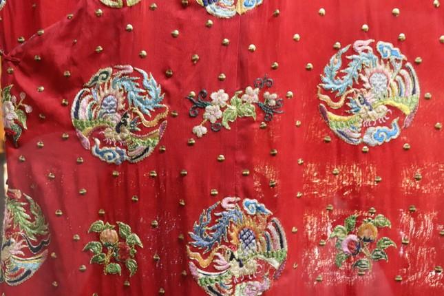 Vào điện Long An, chiêm ngưỡng 'tuyệt phẩm' Long bào triều Nguyễn ảnh 16