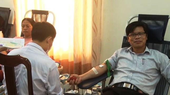 Thị xã Hương Thuỷ tỉnh TT-Huế sôi nổi hiến máu tình nguyện ảnh 2