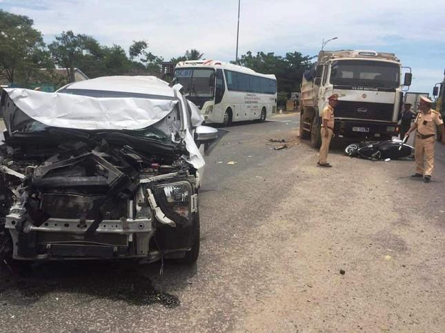 Xe 'điên' gây tai nạn liên hoàn cho nhiều phương tiện trên Quốc lộ 1 ảnh 2