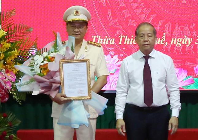 Bổ nhiệm Thượng tá Nguyễn Thanh Tuấn giữ chức vụ Giám đốc Công an tỉnh TT-Huế ảnh 1