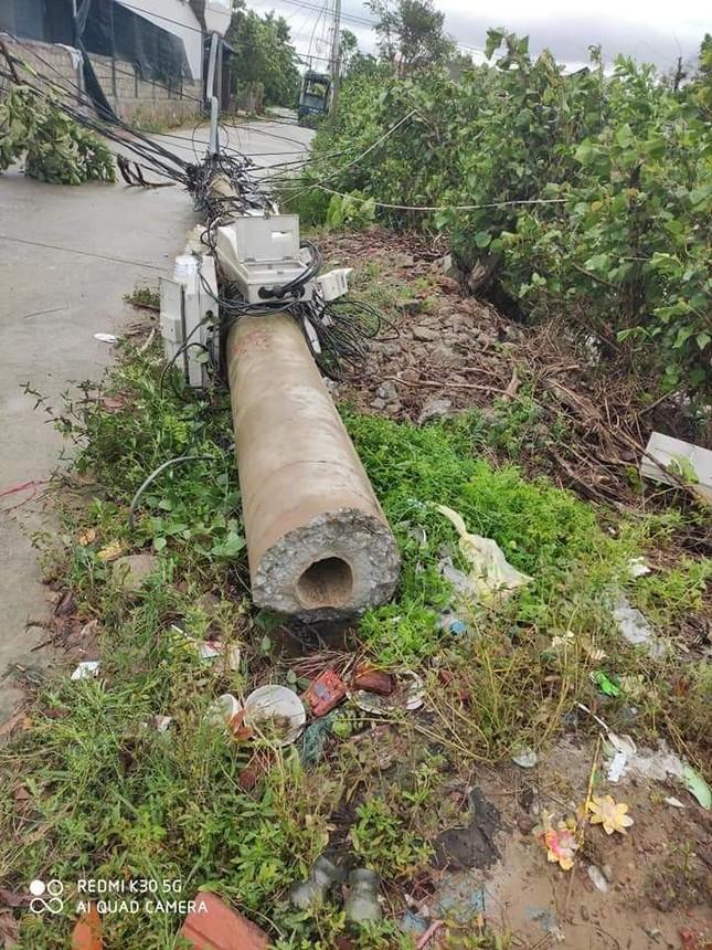 Hơn 400 cột điện đổ la liệt sau bão số 5: Tạm dừng sử dụng cột dự ứng lực ảnh 6