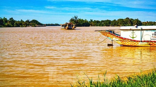 Sông Hương bất ngờ đổi màu khác thường nhiều ngày ảnh 7