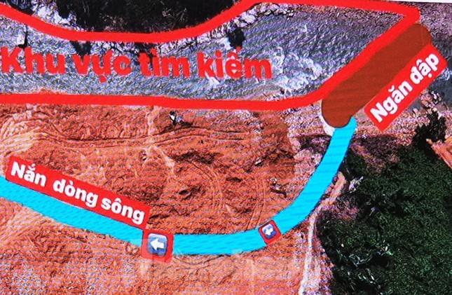 Sông Rào Trăng được nắn chỉnh như thế nào để tìm 12 nạn nhân mất tích? ảnh 4
