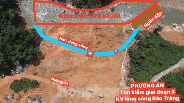 Kết thúc giai đoạn 3 tìm kiếm nạn nhân mất tích tại Rào Trăng, sẽ thêm giai đoạn 4 ảnh 1