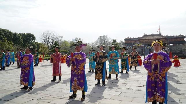Tái hiện nghi lễ Cung đình đặc biệt dịp Tết xưa trong Đại nội Huế ảnh 1