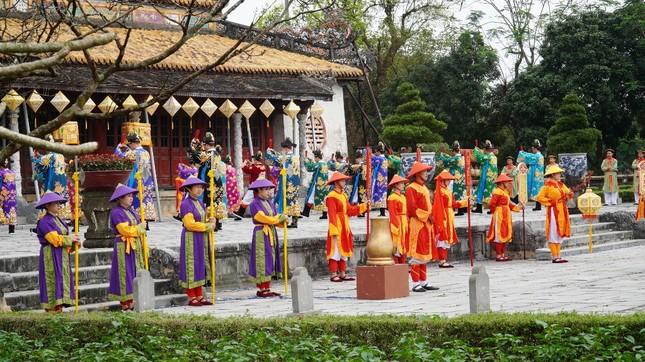 Tái hiện nghi lễ Cung đình đặc biệt dịp Tết xưa trong Đại nội Huế ảnh 9