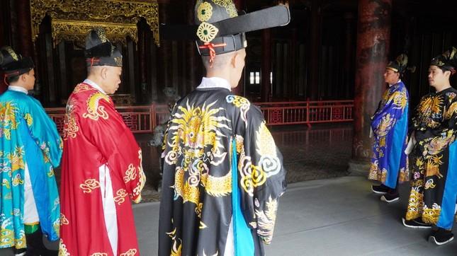 Tái hiện nghi lễ Cung đình đặc biệt dịp Tết xưa trong Đại nội Huế ảnh 6