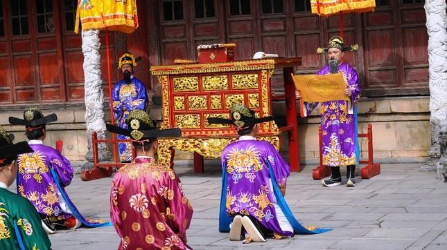Tái hiện nghi lễ Cung đình đặc biệt dịp Tết xưa trong Đại nội Huế ảnh 4