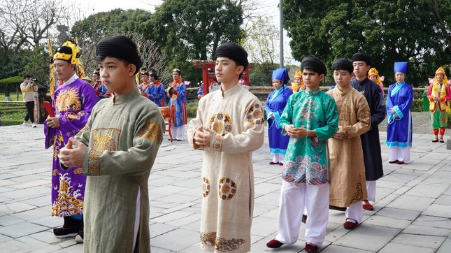 Tái hiện nghi lễ Cung đình đặc biệt dịp Tết xưa trong Đại nội Huế ảnh 8