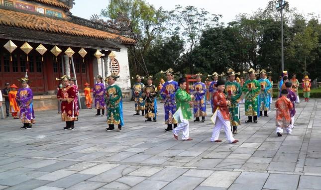 Tái hiện nghi lễ Cung đình đặc biệt dịp Tết xưa trong Đại nội Huế ảnh 7