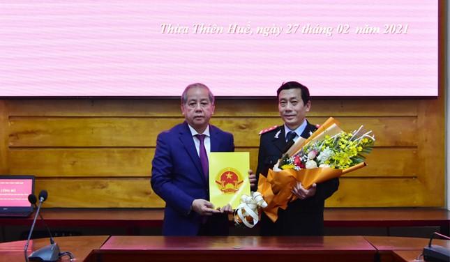 Bổ nhiệm hai Phó chánh Thanh tra tỉnh TT-Huế ảnh 1
