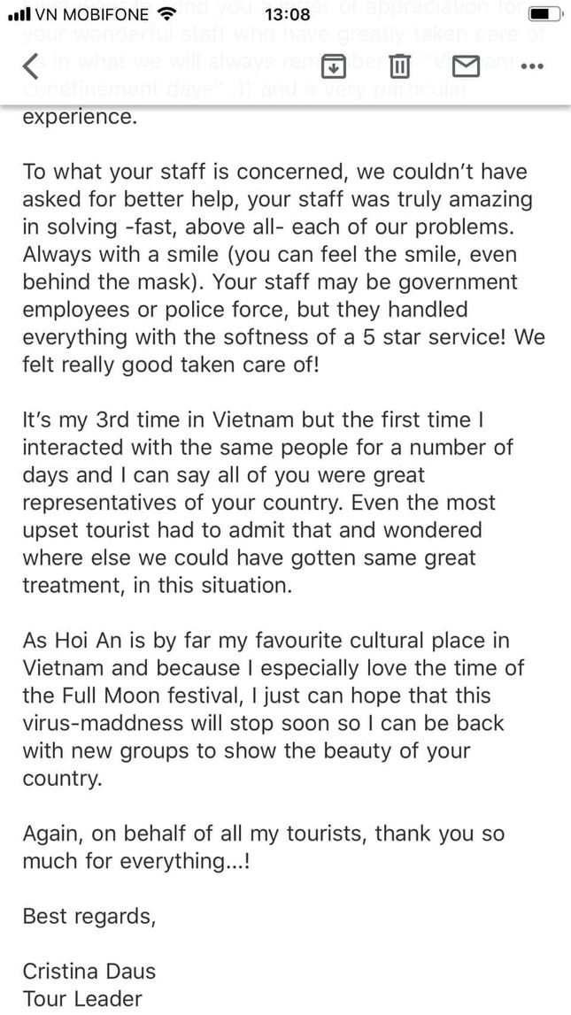 Du khách Rumani: Những ngày tháng cách ly ở Việt Nam là trải nghiệm rất tuyệt vời ảnh 2